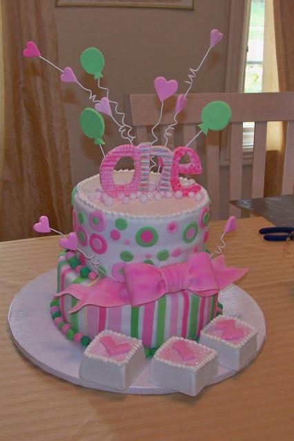 first birthday cakes for girls Girls Birthday Cakes 2012